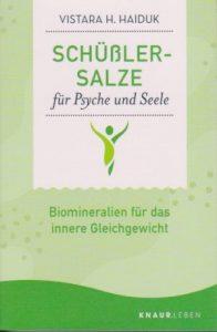 Buch Schüßlersalze für Psyche und Seele